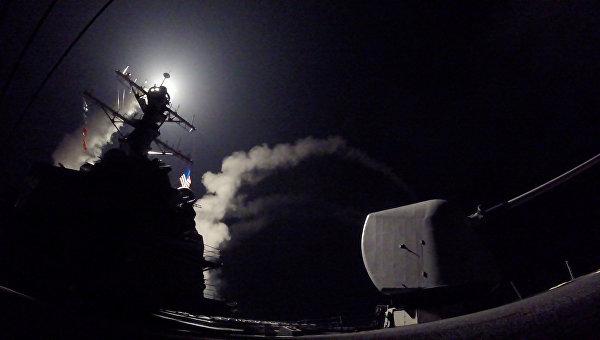 США совместно союзниками атаковали военные игражданские объекты Сирии— МИД РФ