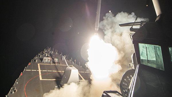 США нанесли 59 ракетных ударов по сирийской авиабазе
