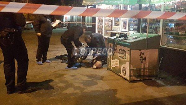 Убийство таксиста в Киеве