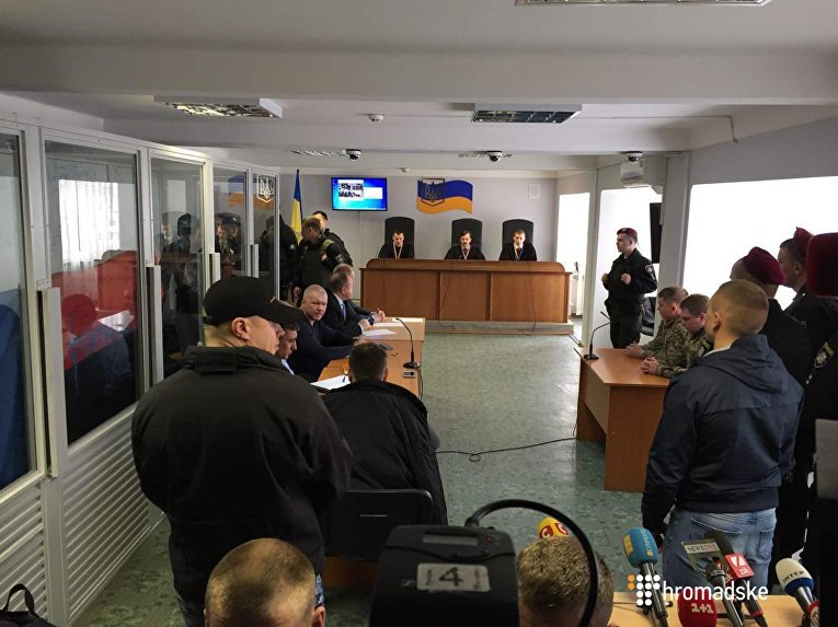 Судебное заседание по делу Торнадо в Оболонском райсуде Киева 7 апреля 2017
