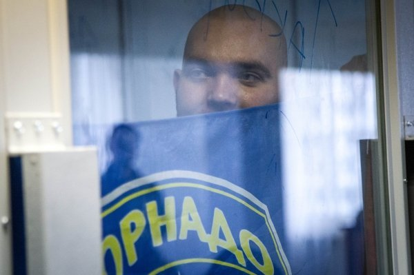 Оболонский райсуд Киева объявляет приговор бывшим бойцам спецподразделения Торнадо