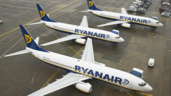 Авиаперевозчик Ryanair. Архивное фото