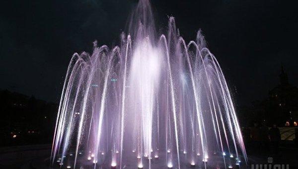 Ссегодняшнего дня вКиеве заработают фонтаны