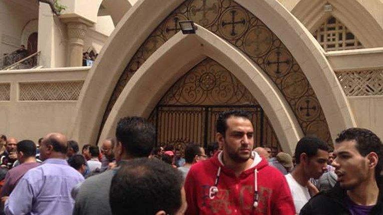 Теракт произошел у церкви в Египте