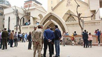 Взрыв в церкви Святого Георгия в египетском городе Танта