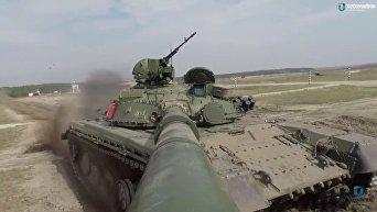 Испытания Т-64 перед отправкой в ВСУ