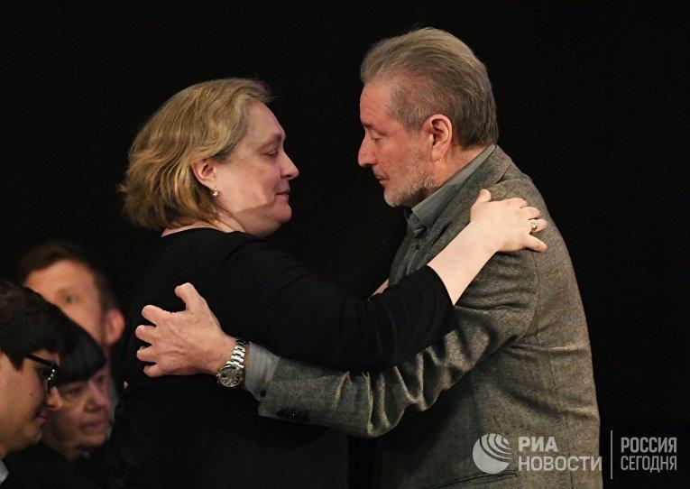 Прощание с Евгением Евтушенко
