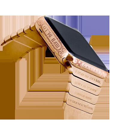 Часы Apple Watch со словами Отче наш и Спаси и сохрани