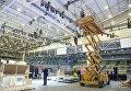 Строительство главной сцены Евровидения-2017 и зрительного зала в Киеве