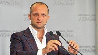 Секретарь комитета ВР по вопросам финансовой политики и банковской деятельности Максим Поляков