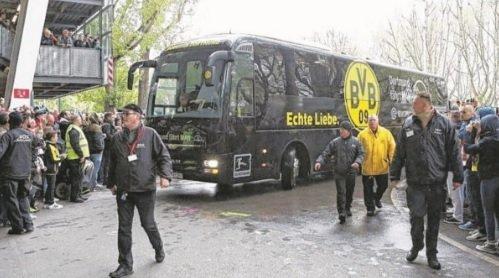 Взрыв у автобуса Боруссии