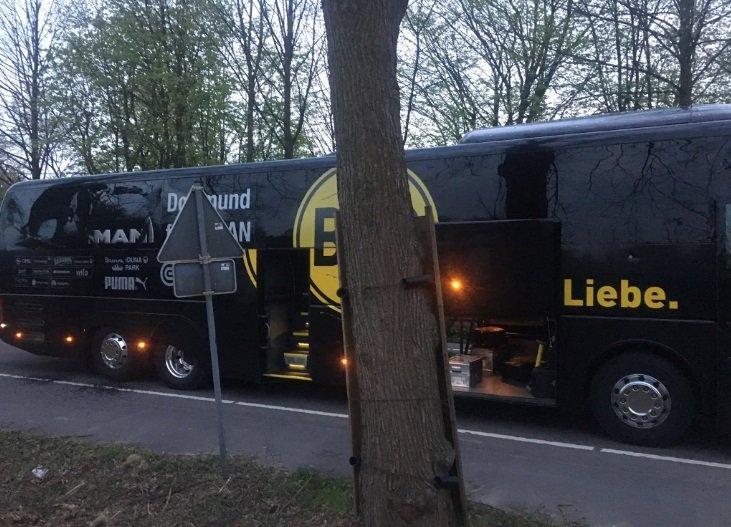 Три взрывных устройства сработали вблизи автобуса Боруссии
