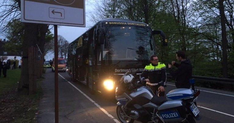 Взрывы у автобуса Боруссии
