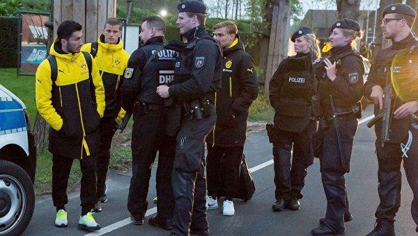 Взрыв в Дортмунде. Полиция на месте ЧП