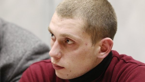 Патрульный Сергей Олейник. Архивное фото