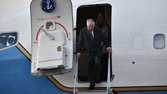 Госсекретарь США Р. Тиллерсон прибыл с рабочим визитом в РФ