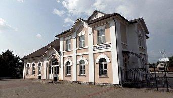 Вокзал в Барышевке