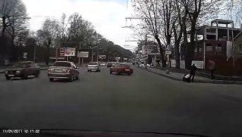 Видео смертельного ДТП в Днепре
