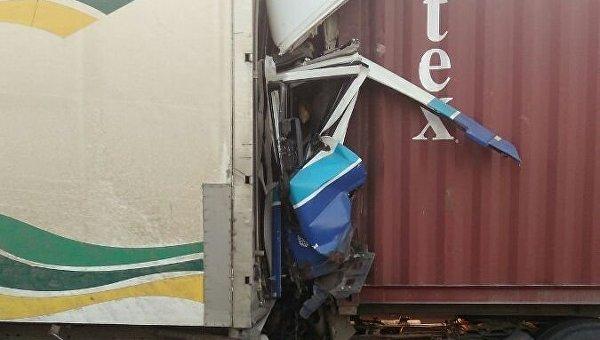 Авария на трассе Киев - Одесса