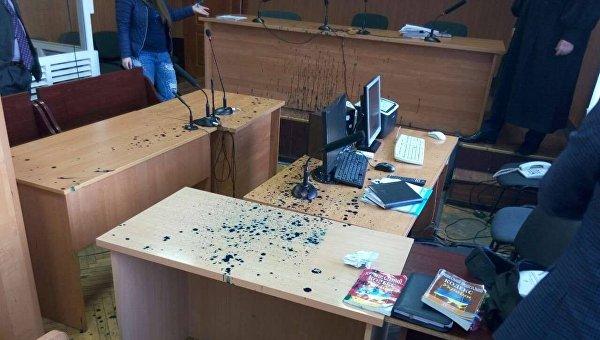 В Одессе автомайдановцы сорвали заседание суда