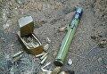 Три тайника с оружием обнаружили сотрудники СБУ в районе проведения АТО