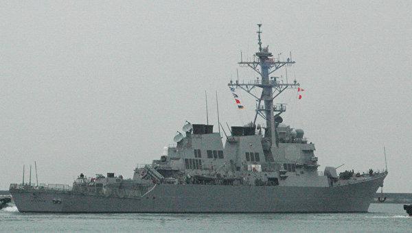 Американский эсминец Stethem прибыл вЮжно-Китайское море