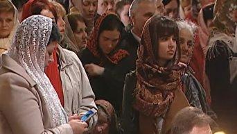 Пасхальное богослужение во Владимирском соборе. Онлайн-трансляция. Видео