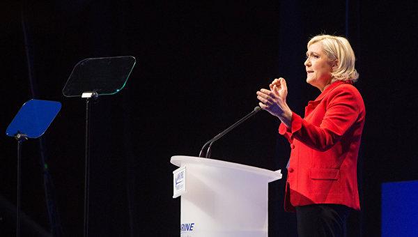 Кандидат в президенты Франции Марин Ле Пен. Архивное фото