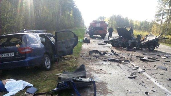 ВЖитомирской области вДТП погибли 5 человек