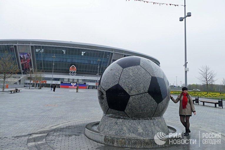 Стадион Донбасс-Арена в Донецке