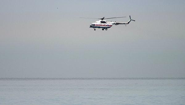 Поисковые работы у побережья Черного моря,