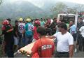 На Филиппинах автобус сорвался в ущелье