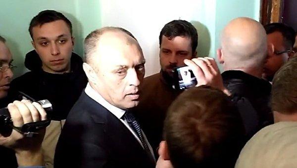 Мэр Полтавы Александр Мамай 19 апреля 2017 года