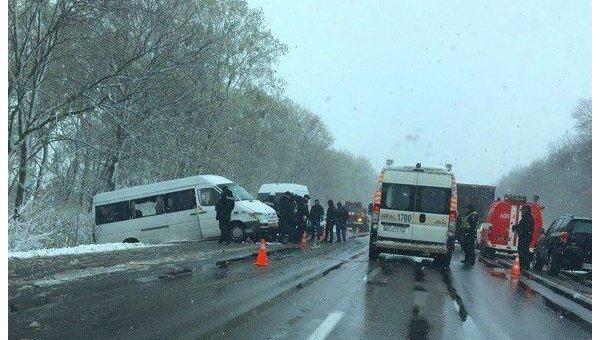 ДТП близ Полтавы: четверо погибших