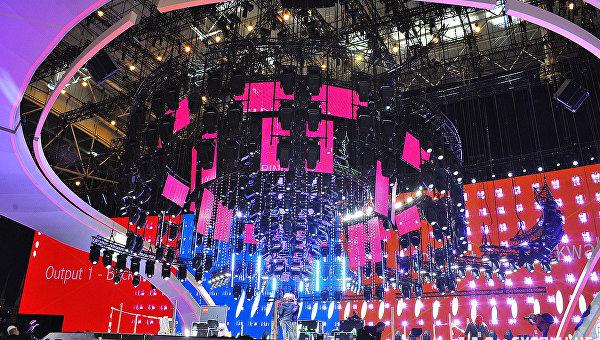 Главная сцена Евровидения-2017