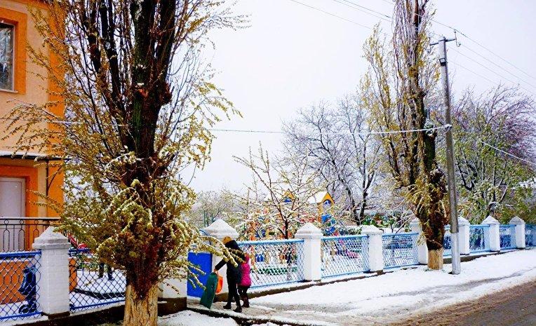 Снег на Херсонщине