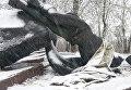 Двое жителей Днепра распилили памятник для сдачи на металлолом. Архивное фото