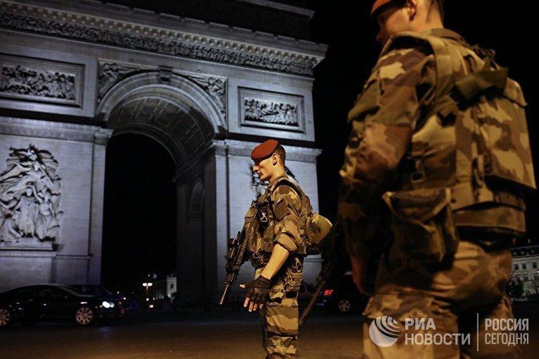 Последствия перестрелки в центре Парижа