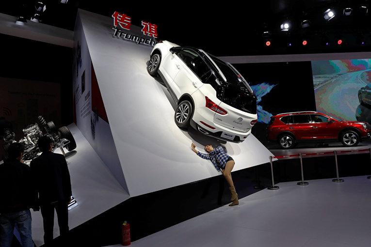 Мотор-шоу в Шанхае