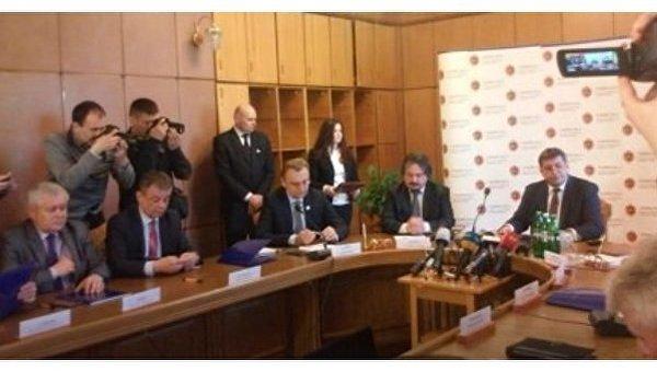 Подписание меморандума об утилизации львовского мусора