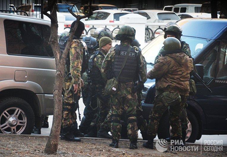 Вооружённое нападение на приёмную ФСБ произошло в Хабаровске