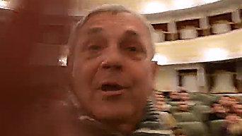 В Николаеве заслуженный артист Украины напал на журналиста