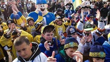 Матчи ЧМ по хоккею в Киеве будут охранять более 200 полицейских