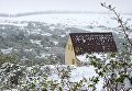 Снег в Крыму