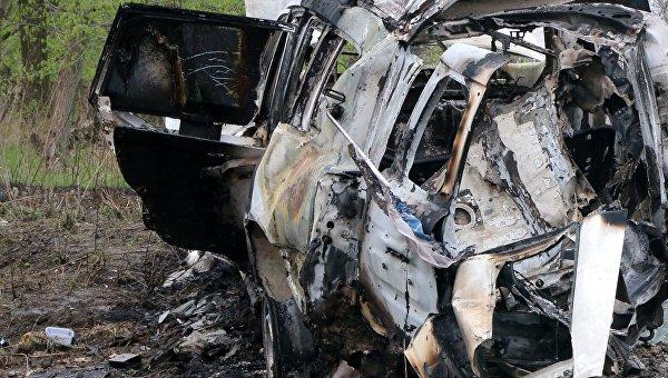 ВЛНР сообщили, кто возглавлял подрыв автомобиля ОБСЕ вДонбассе