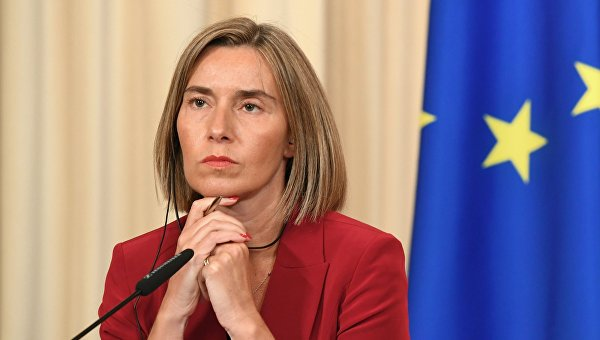 Высокий представитель ЕС по иностранным делам и политике безопасности, заместитель председателя Европейской комиссии Федерика Могерини
