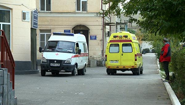 Машины Скорой помощи в Дагестане. Архивное фото