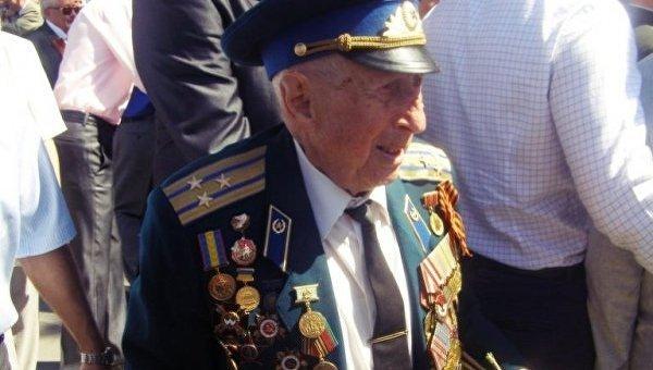 Борис Стекляр на Дне победы в Ровно