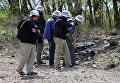 Представители миссии ОБСЕ в Украине посетили место взрыва машины ОБСЕ в Луганской области