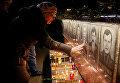 В Славутиче прошла панихида по жертвам аварии на ЧАЭС